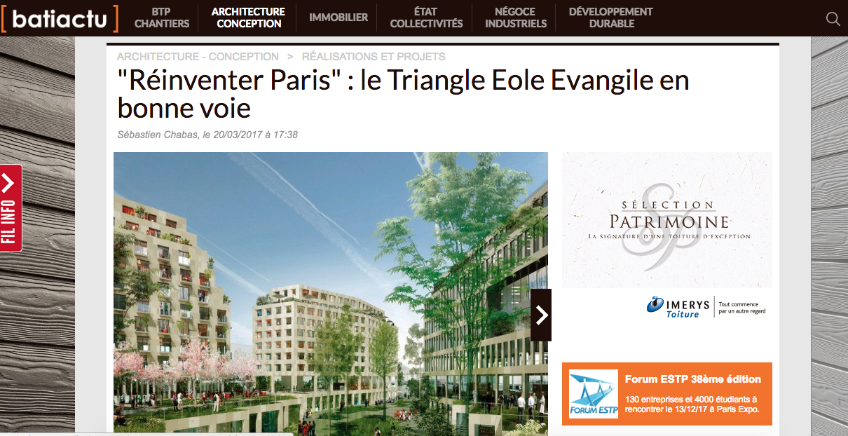 Grand Paris article Ilot Fertile