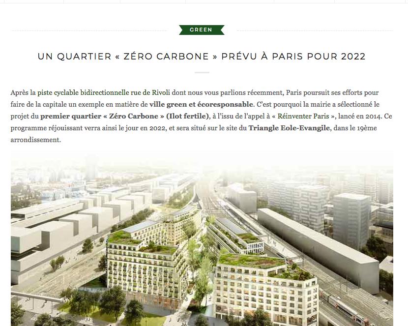 Green Hotel Article Ilot Fertile batiment grand paris Linkcity